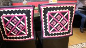 colorful seat covers