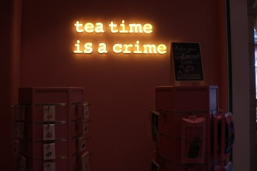 Tea time is a crime